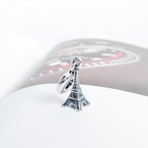 Pandora Silver Paris Eiffel Tower Dangle Charm